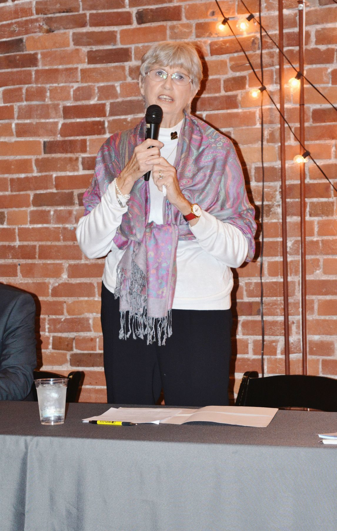 Elected officials speak during State of the City Breakfast