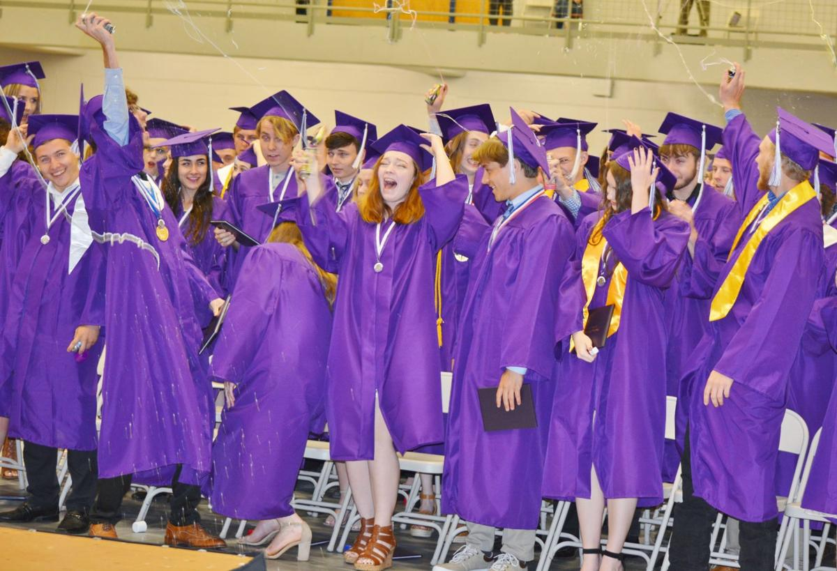 Louisburg celebrates with class of 2019