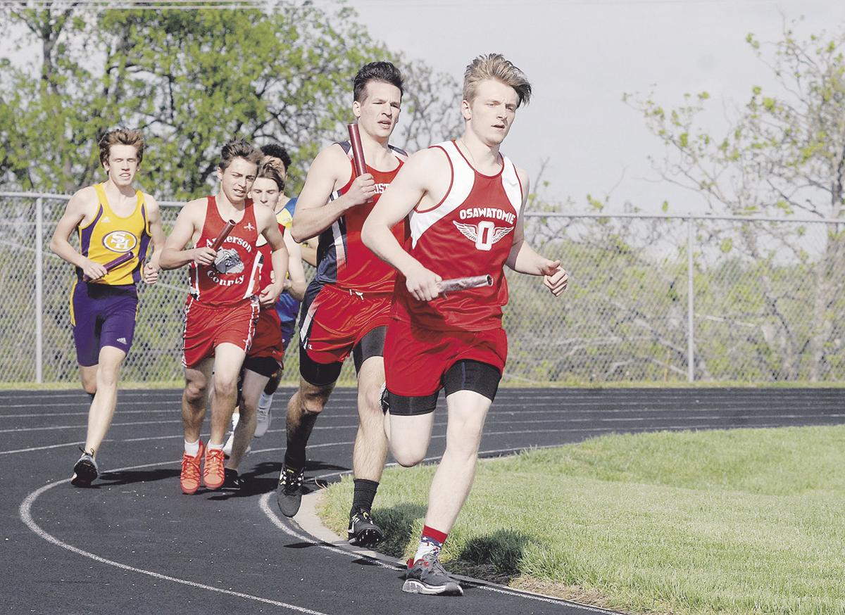 Osawatomie boys win 4x400 to end Wendt Invitational