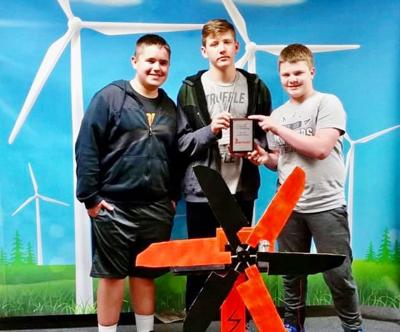 Students test wind turbines at state competition