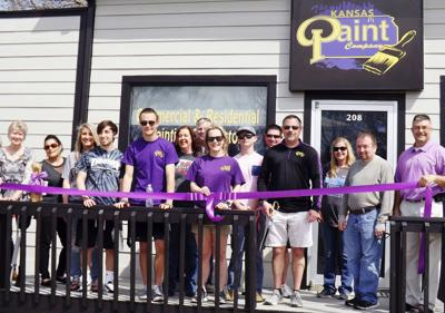Kansas Paint Company opens in Spring Hill