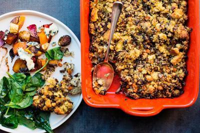 Food Column Deadline Mushroom Cornbread Stuffing