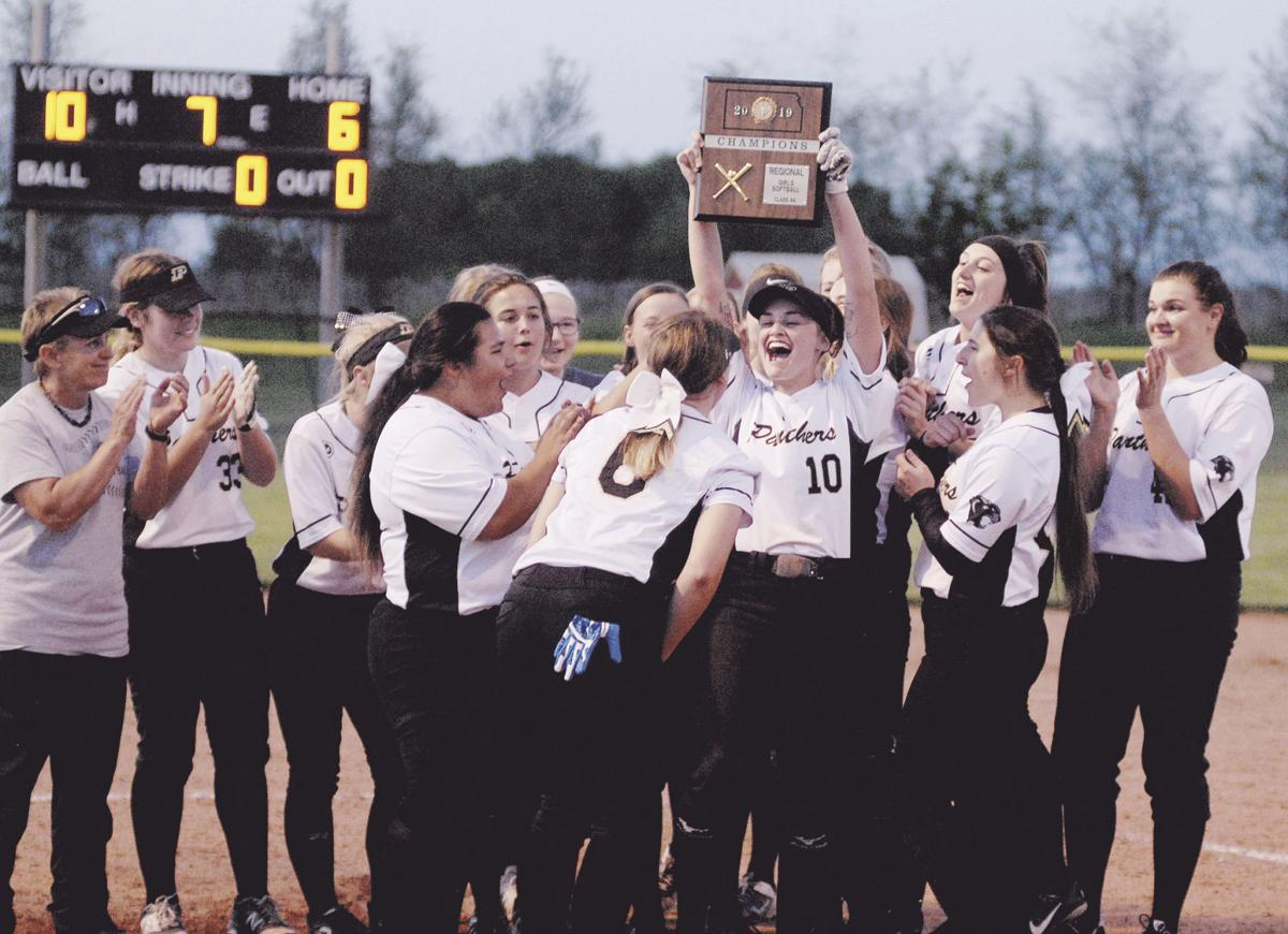 Lady Panthers win third straight regional championship