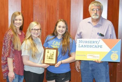 Local FFA members earn scholarships