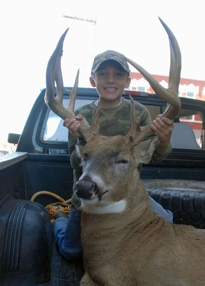 Paola youth uses crossbow to bag big buck   News   republic