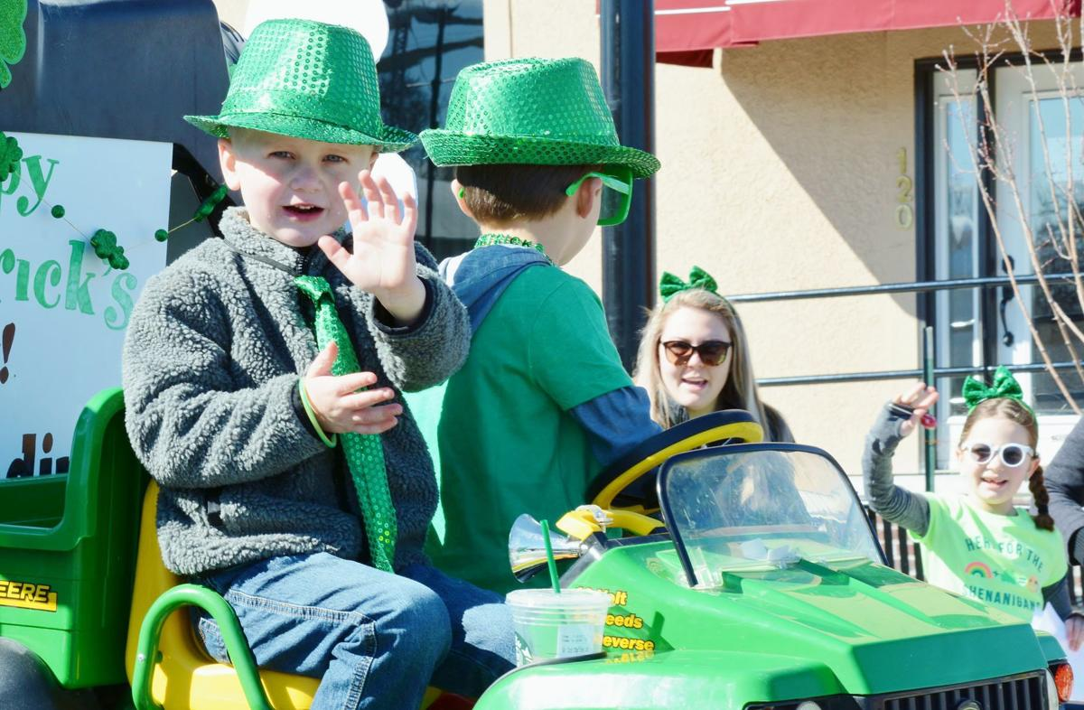 Louisburg rolls out green carpet for parade