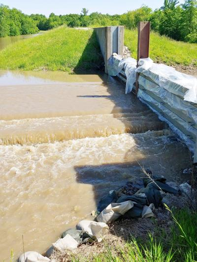 NWS says river appears to be cresting