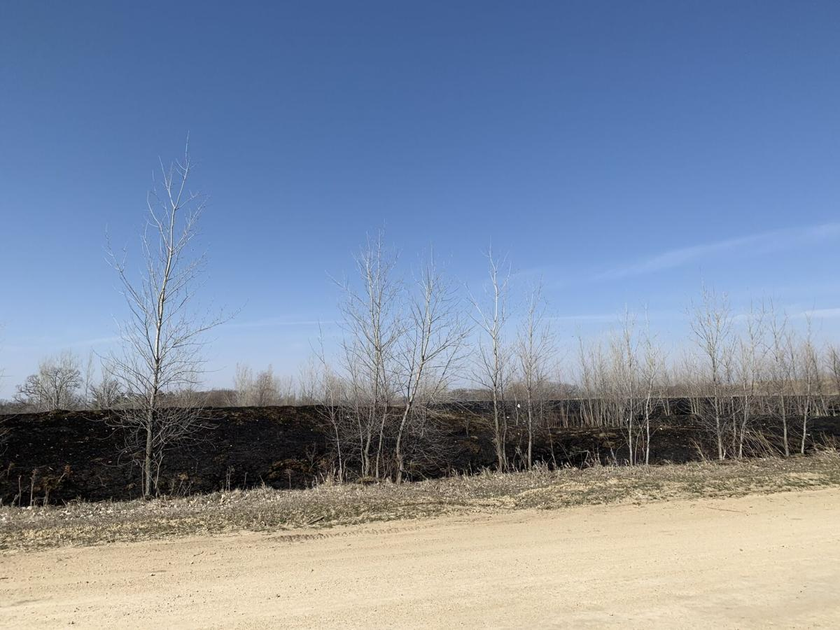Red Wing brush fire April 2, 2021