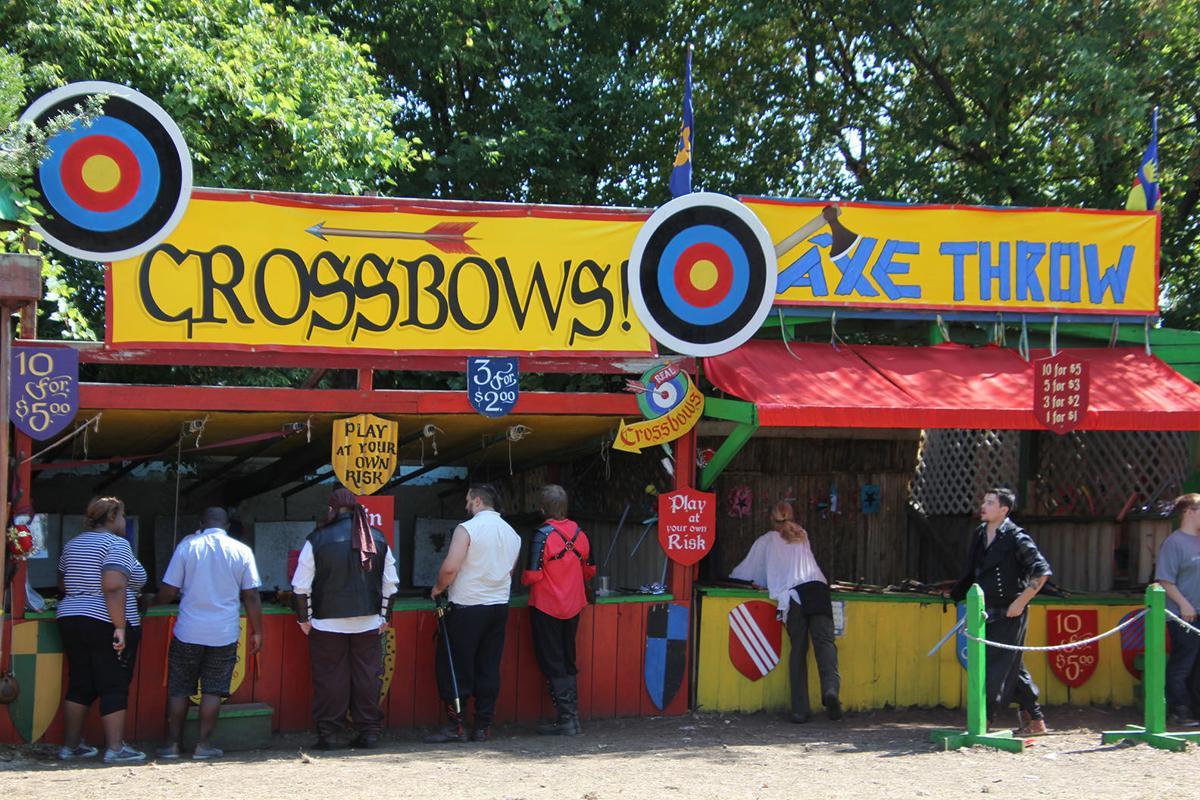 Renaissance Festival crossbows.JPG