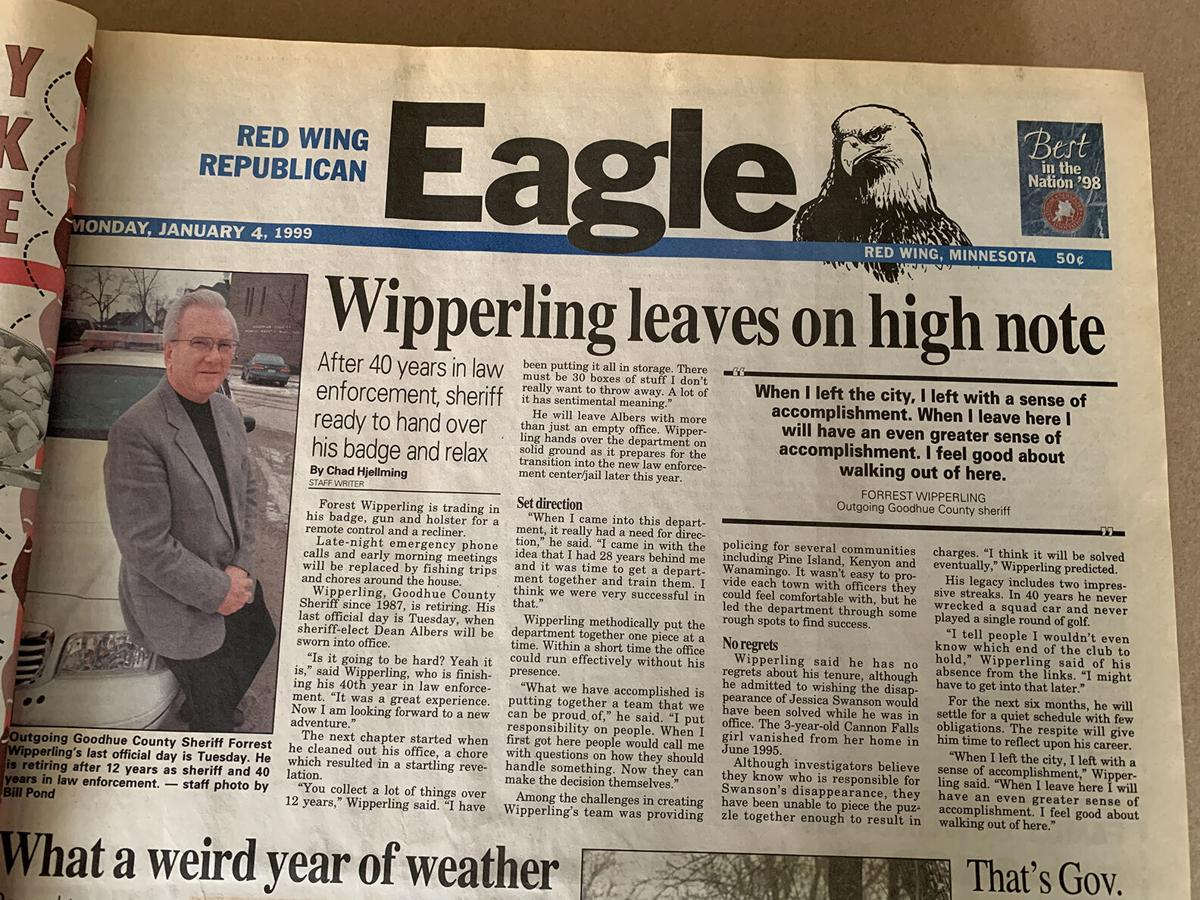 Forest Wipperling 1999 news story.JPG