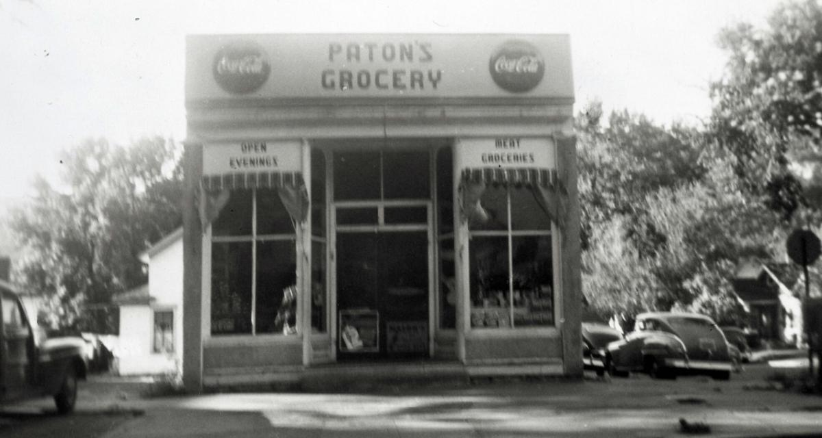 Historic photo: Paton's Grocery