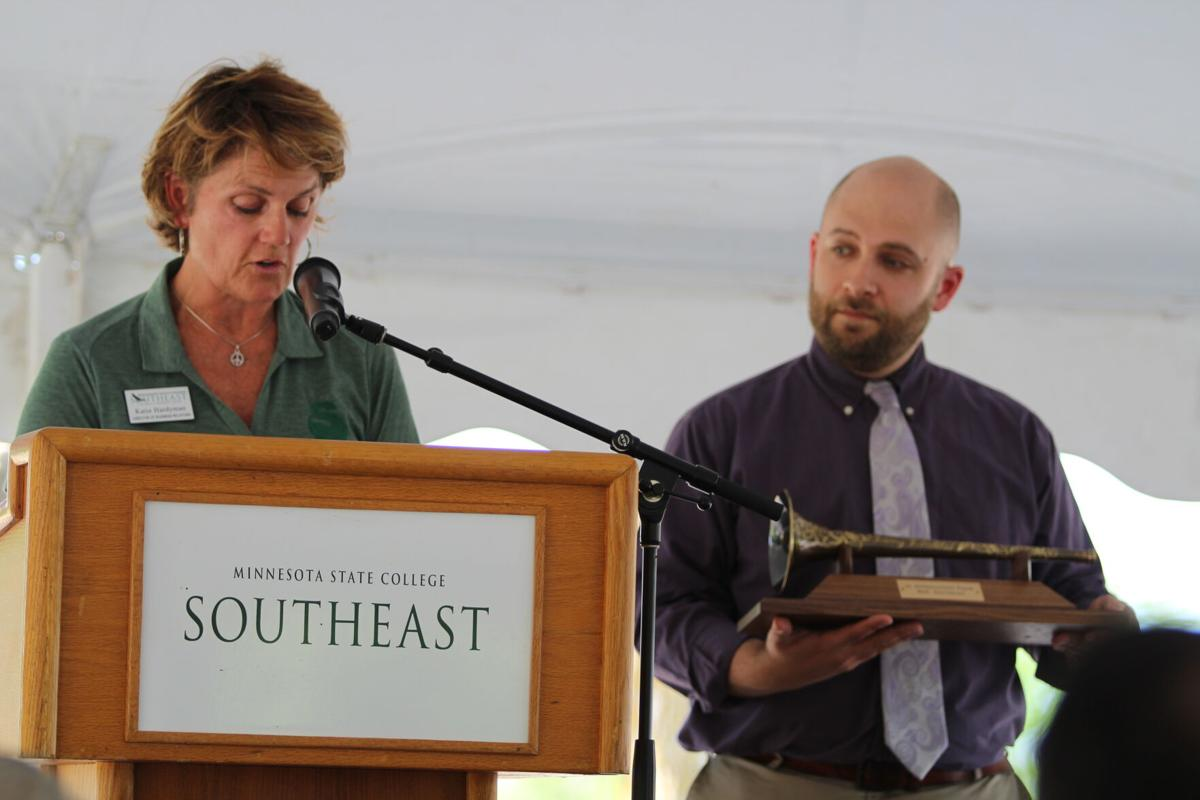 Katie Hardyman Morem and Josiah Litant