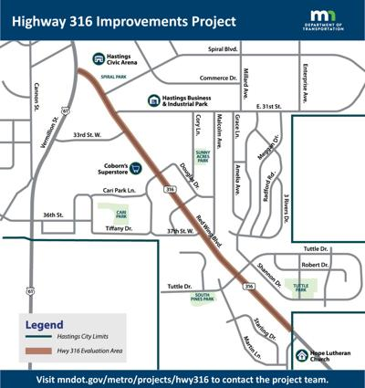 Highway 316 improvements project 2021