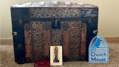 Church Mouse: archival trunk