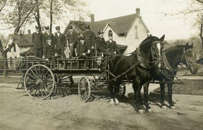 Historic photo: Red Wing firefighters 1910