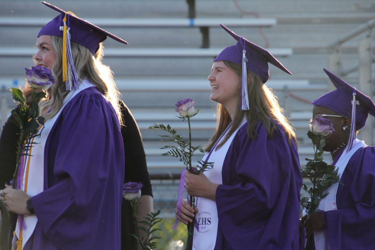 Ellsworth High School graduation ceremony 1