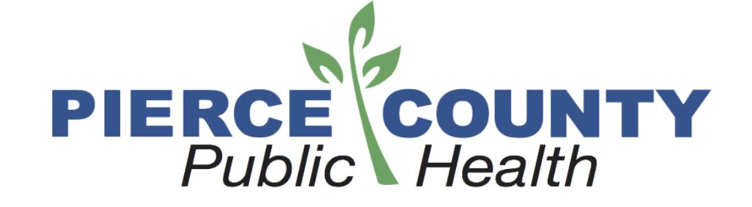 Pierce County Public Health Logo RTSA