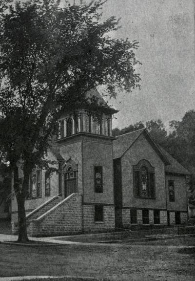 Historic photo: Swedish Evangelical Lutheran Church, Red Wing