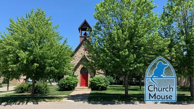 Church mouse: Church of the Redeemer, Cannon Falls