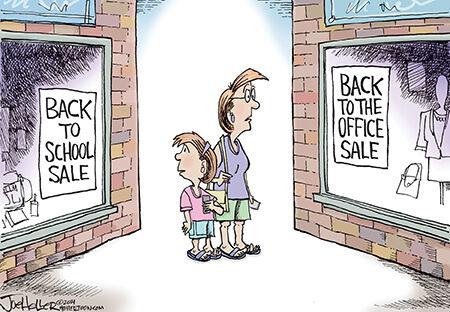 Editorial cartoon Joe Heller back to school 080221.jpg