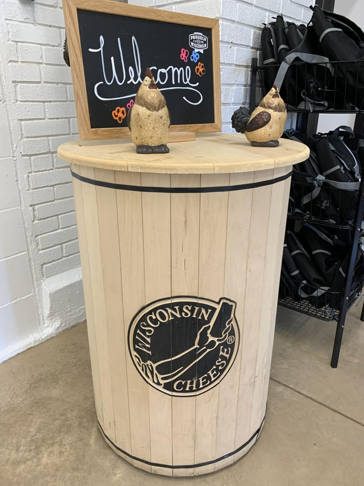 Ellsworth Cheese Barrel