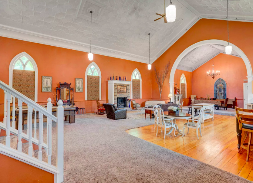 Red Wing, Minn. former church converted to house for sale 1