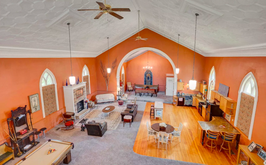 Red Wing, Minn. former church converted to house for sale 2