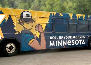 Minnesota vaccination bus
