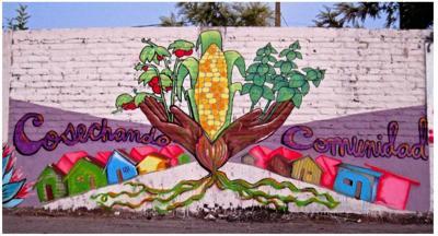 Camila Leiva mural