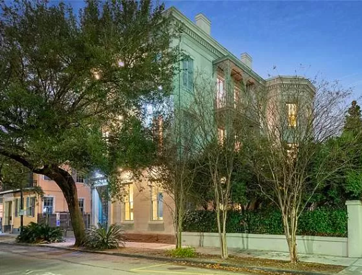 Historic three-story mansion, New Orleans, La. 1