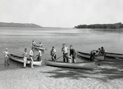 Historic photo: Camp Hok-Si-La