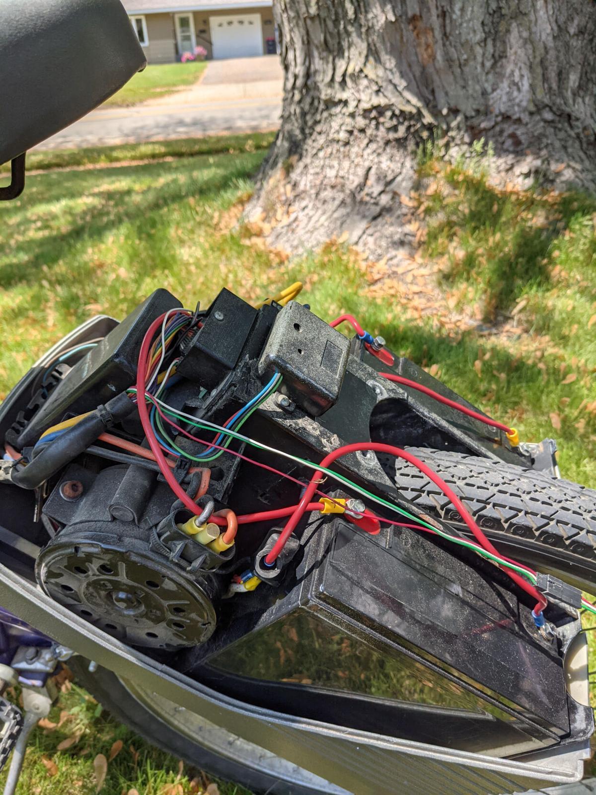 Drotos' EV Warrior bike