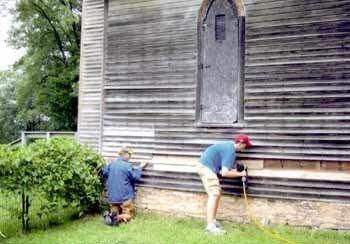 PHOTO: Belle Creek church