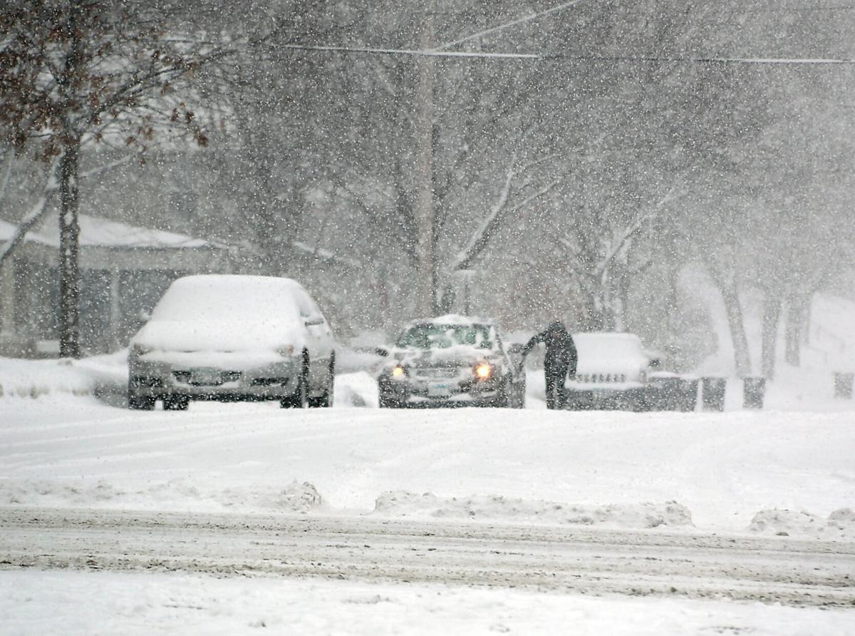 Snow storm file photo