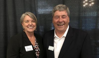 Marsha Danielson and Larry Lundblad
