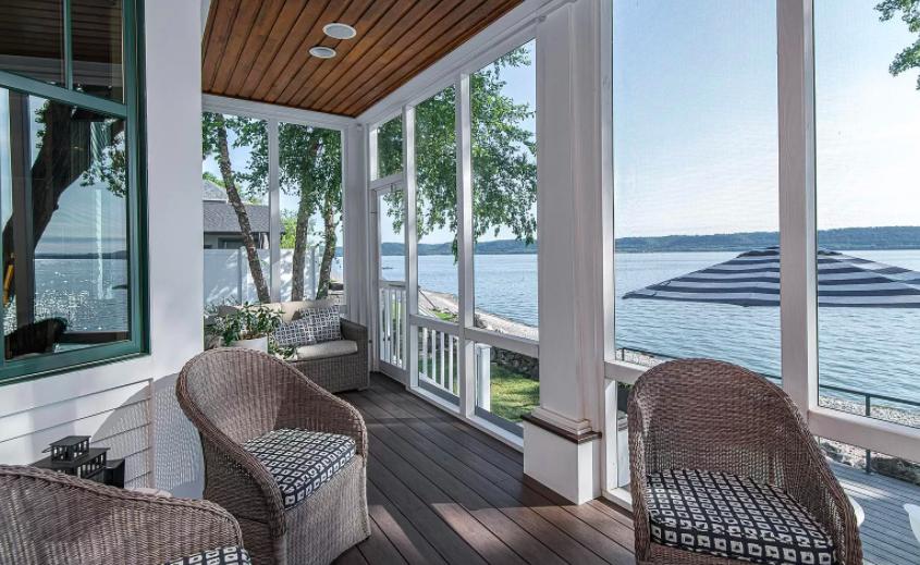 Lake City, Minn. house on lake for sale