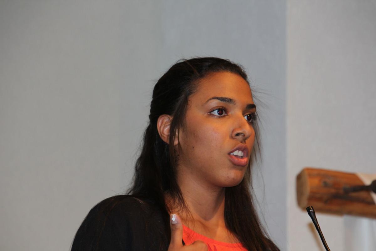 Amy Dejesus from Venezuela. Steve Gardiner / RiverTown Multimedia