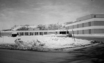 Historic photo: Twin Bluff Junior High School winter of 1971-72