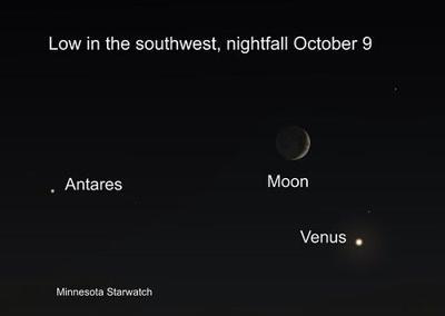 MInnesota Star Watch October 2021