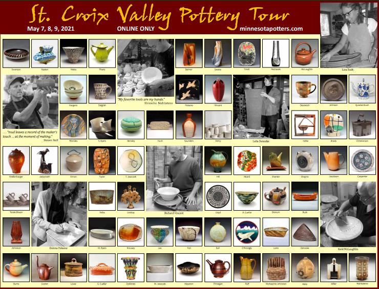 29th Annual St. Croix Valley, Minn. pottery tour