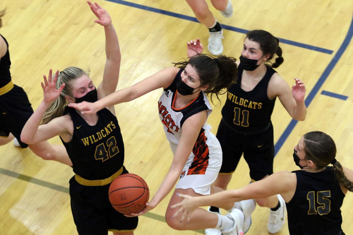 Lake City girls basketball, Lilly Meincke - 1
