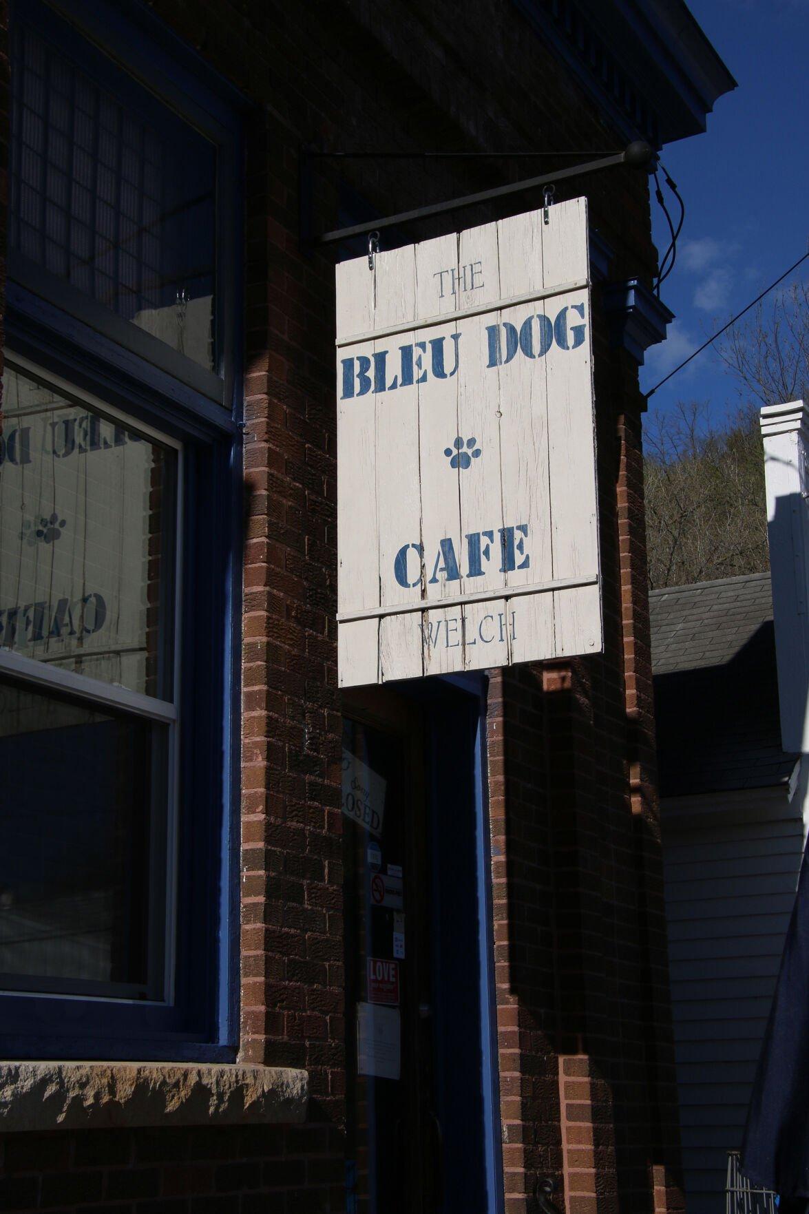 The Bleu Dog Cafe, Welch, Minn.