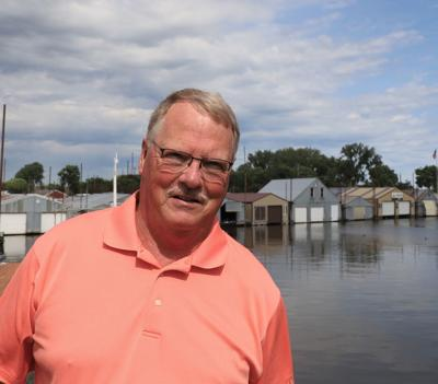 Mike Wilson, the Red Wing mayor 'is in'