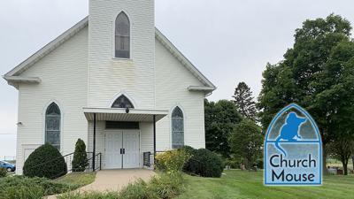 Church mouse: Cross of Christ Lutheran Church, Welch