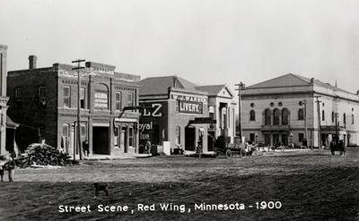 Red Wing and T.B. Sheldon Theatre 1900