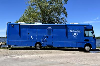 Mayo Clinic Health System mobile clinic