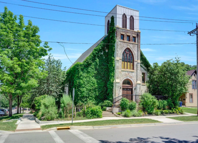 Red Wing, Minn. former church converted to house for sale