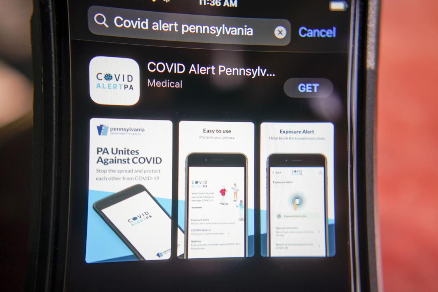 Virus Outbreak Pennsylvania App