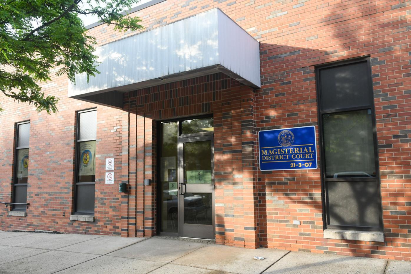 District Court Pottsville James K. Reiley building