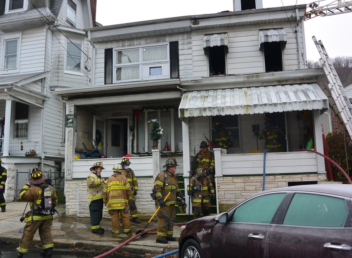 Girardville fire